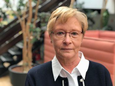 Martine Antoine, directrice du service de transplantation de l'hôpital Erasme.