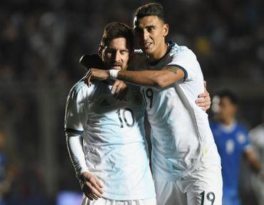 Lionel Messi et Matias Suarez