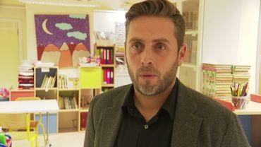 Nicolas Joostens, directeur d'école fondamentale