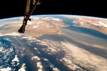 Détroit de Gibraltar, sud de l'Espagne, Algarve (Portugal) et Maroc