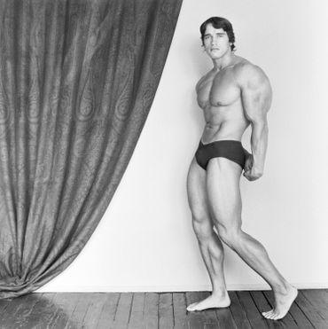 Robert Mapplethorpe - Arnold Schwarzenegger (edition of 10 + 2 AP), 1976 - silver gelatin print