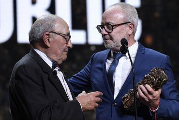 Le père de Kad Merad est venu remettre le Prix du public à Olivier Baroux