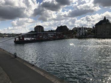 Rotation de l'Enjambée - côté Namur