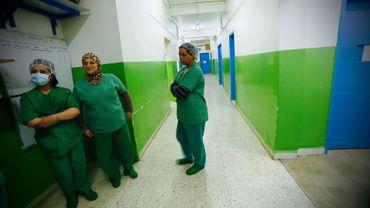 Les infirmières de l'hôpital d'Hassaké, nous donnent leur ressenti dans les couloirs du quartier opératoire