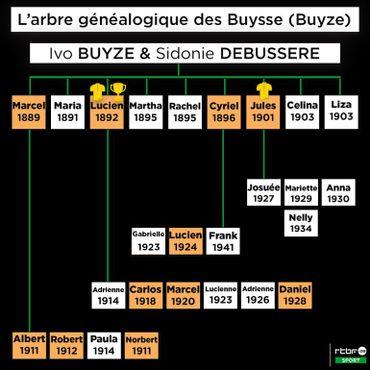 L'arbre généalogique insolite de la famille Buysse