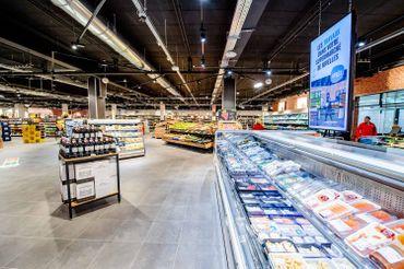 Delhaize a présenté son supermarché du futur, à Nivelles