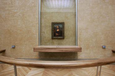 """La Joconde"" avant la restauration de la Salle des Etats"