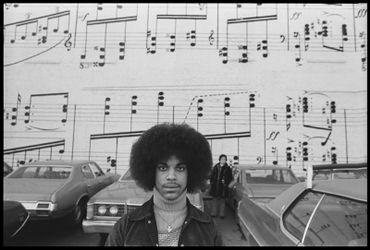 Prince photographié par Robert Whitman