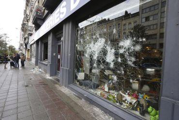 Les dégâts avaient été nombreux au centre-ville.