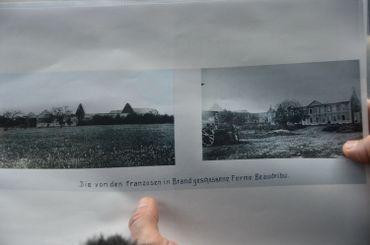 Ferme de Beaudribu en 1914