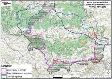 Les nouvelles zones s'étendent de plus de 10 000 hectares.