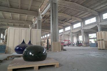 Vendredi encore, quelques heures seulement avant le début de la démolition, des oeuvres de l'artiste étaient présentes dans l'entrepôt.