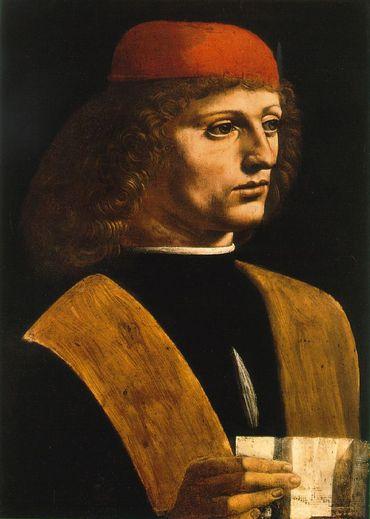 Portrait d'un musicien, Léonard de Vinci - Milan