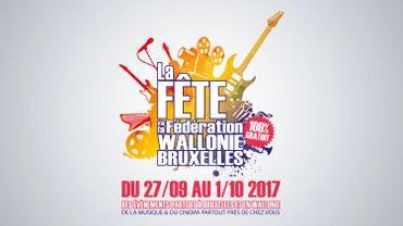 Affiche Fête de la Fédération Wallonie-Bruxelles