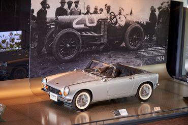 La toute première voiture construite par Honda