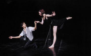 Gil Roman et Elisabet Ros dans Brel-Barbara, une chorégraphie de Maurice Béjart