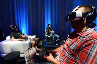 le casque Oculus Rift, acquis par Facebook en 2015.