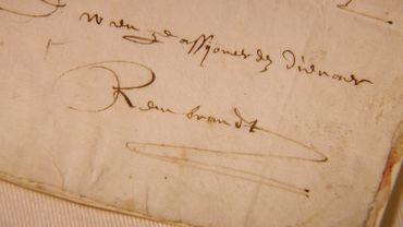 La Réserve précieuse du Musée royal de Mariemont conserve, parmi ses nombreux trésors, une collection unique de lettres, comme celle deRembrandt