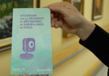 Les familles des résidents de maisons de repos ont chacune reçue de la documentation sur les règles encadrant la présence de caméras.