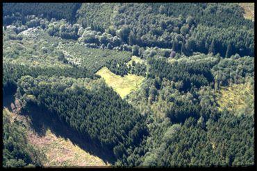 Vue aérienne des Prés de la Lienne