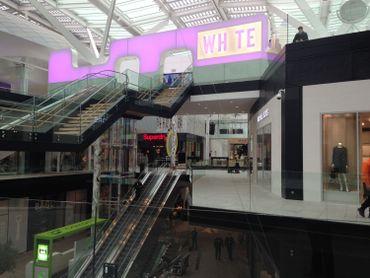 L'entrée du White Cinema
