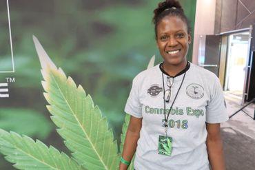 Rozayne Malyo, du Conseil sud-africain du développement du cannabis, espère un changement rapide de la loi.