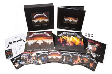 Metallica ressort Masters of Puppets