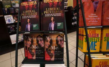 Livre en question dans une librairie new-yorkaise, ce 1er septembre