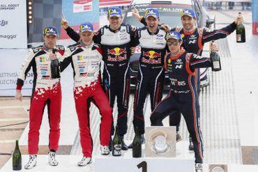 Le podium de Tour de Corse