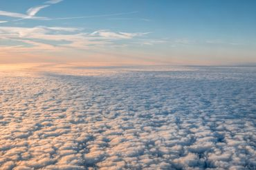 Scenic View Of Cloudscape During Sunrise