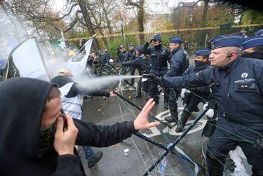 La manifestation des militaires s'achève dans le calme après les accrochages avec la police