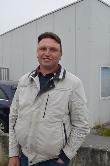 Olivier Druart, agriculteur.