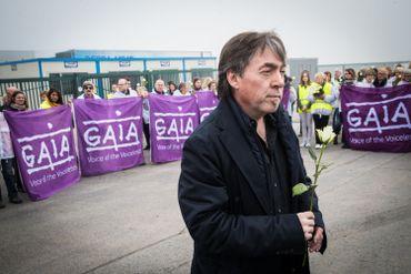 Michel Vandenbosch, de Gaia, à Tielt, ce 03 avril