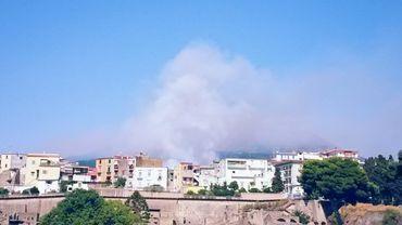 Les incendies avaient déjà touché la région la semaine dernière.