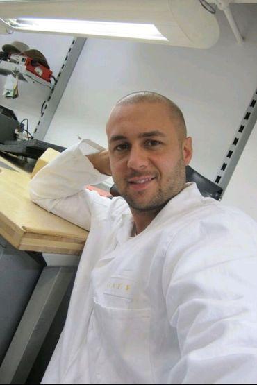 A 27 ans, Pino est chef d'atelier chez Graff