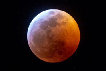 Les plus belles images de l'éclipse de lune