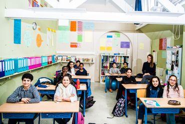 La classe de 6ième primaire de madame Jeanne.
