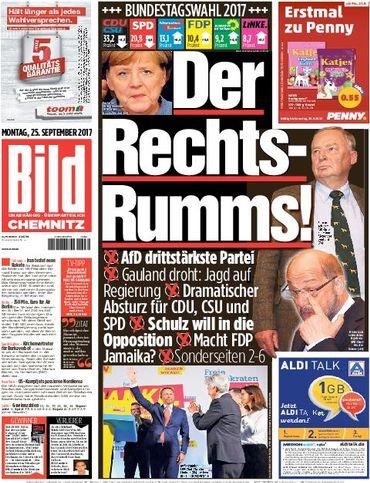 """Elections législatives en Allemagne - Une victoire """"amère"""" voire """"cauchemardesque"""", selon la presse"""