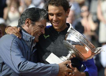 Toni et Rafael Nadal