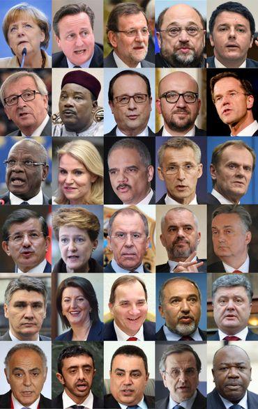 De nombreuses personnalités sont présentes à Paris ce dimanche