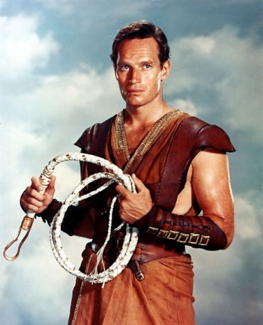 Charlton Heston incarne Judah Ben-Hur