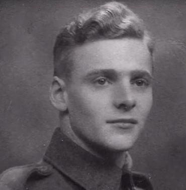 Harry Read, parachutiste britannique.