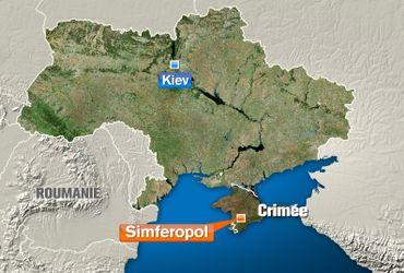La carte de l'Ukraine