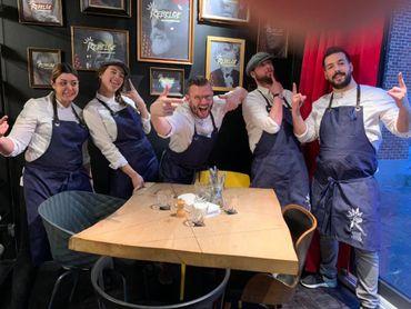 Rebelge... Découvrez le nouveau restaurant de Jean-Philippe Watteyne