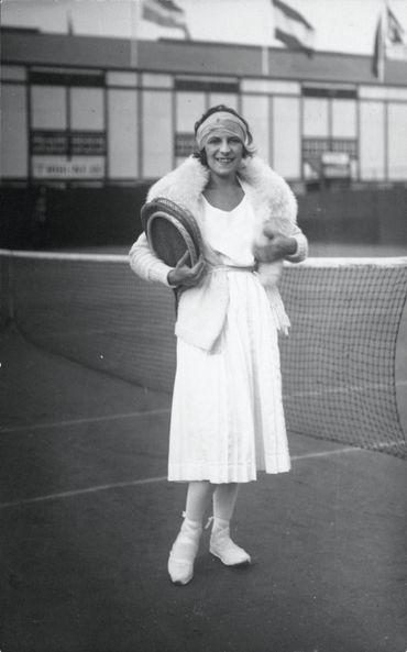 Suzanne Lenglen en 1920