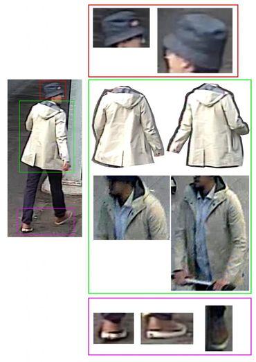 La veste portée par l'homme au chapeau