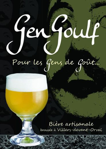 Bière blonde ambrée brassée à Villers-devant-Orval portant le nom du saint patron du village de Villers-dt-Orval, Gengoulf.