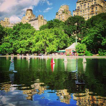 Central Parc, le poumon vert de New York City