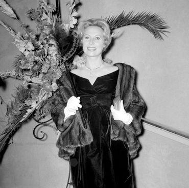 Michèle Morgan en 1958