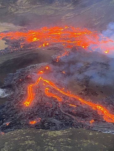 Une éruption volcanique a commencé à Fagradalsfjall, près de Reykjavik en Islande